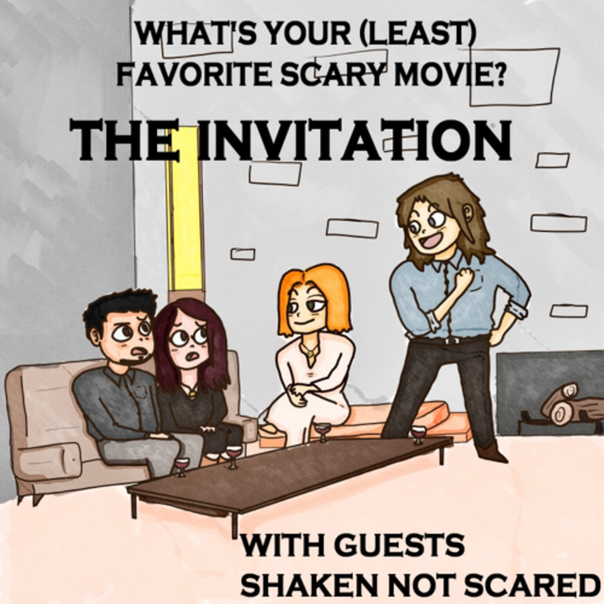 #35: The Invitation (2015) with Shaken Not Scared